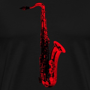red saxophone - Men's Premium T-Shirt