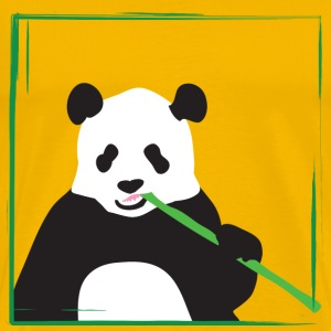 Yellow panda T-Shirts - Men's Premium T-Shirt