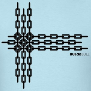 Sky blue bulgebull_chain2 T-Shirts - Men's T-Shirt