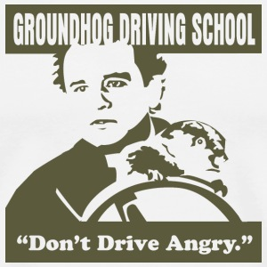 Groundhog Driving School - Men's Premium T-Shirt