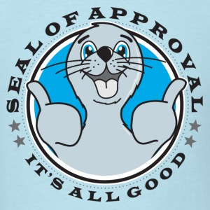 Seal of Approval - Men's T-Shirt