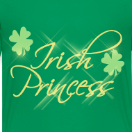 Design ~ Irish Princess, Girls St Patricks Day Shirt