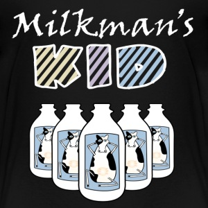 Black Milkman's Kid Funny Baby Clothes Toddler Shirts - Toddler Premium T-Shirt