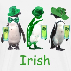 Irish Penguin - Men's Premium T-Shirt