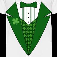 Design ~ Toddler Leprechaun Tuxedo T-Shirt, St Patricks Day
