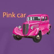 Design ~ Pink car t-shirt