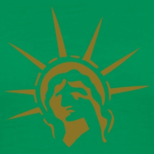 Sage Lady Liberty T-Shirts - Men's Premium T-Shirt
