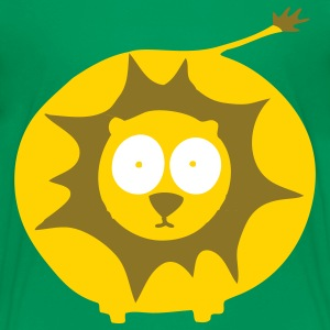 Kelly green Lion Kids' Shirts - Kids' Premium T-Shirt