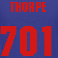 Design ~ THORPE SHERSY BLEUE N RED