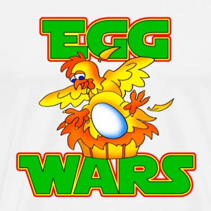 White Egg Wars T-Shirts - Men's Premium T-Shirt