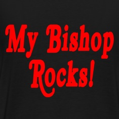 Black My Bishop Rocks T-Shirts
