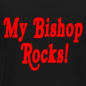 Black My Bishop Rocks T-Shirts - Men's Premium T-Shirt