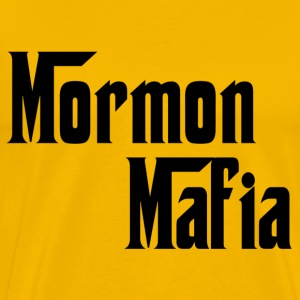 Yellow Mormon Mafia T-Shirts - Men's Premium T-Shirt