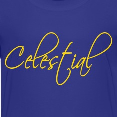 Royal blue Celestial Kids' Shirts