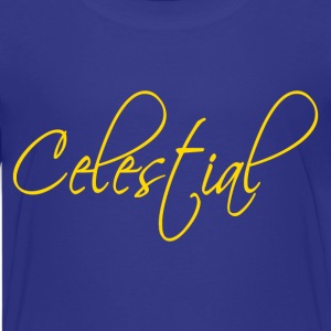 Royal blue Celestial Kids' Shirts - Kids' Premium T-Shirt