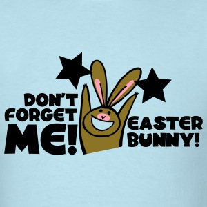 Sky blue dont forget me easter bunny cute! T-Shirts - Men's T-Shirt
