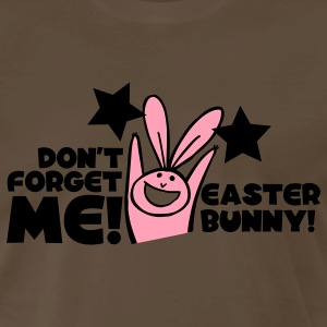 Brown dont forget me easter bunny cute! T-Shirts - Men's Premium T-Shirt