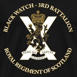 Black Watch - Men's Premium T-Shirt