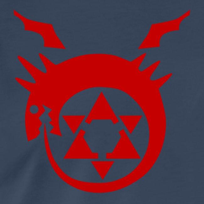Crocktees Fma Homunculus Ouroboros Mens Premium T Shirt