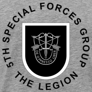 5th Special Forces Group - Men's Premium T-Shirt