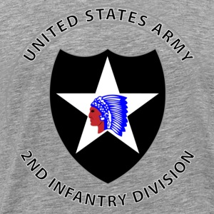 2nd Infantry Division - Men's Premium T-Shirt