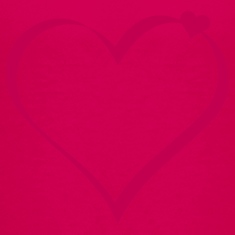 Hot pink hearts (ribbon, 1c) Kids' Shirts