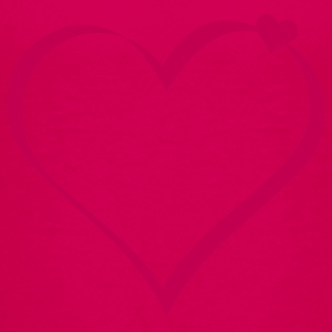 Hot pink hearts (ribbon, 1c) Kids' Shirts - Kids' Premium T-Shirt