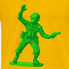 green toy soldier
