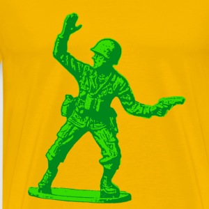 green toy soldier - Men's Premium T-Shirt