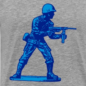 blue soldier - Men's Premium T-Shirt
