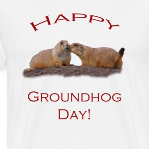Groundhog Day Kiss - Men's Premium T-Shirt