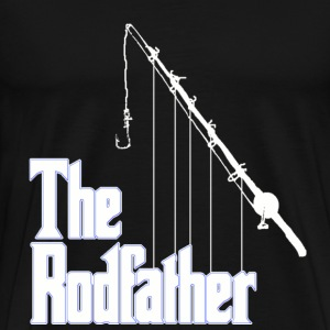 fishing rodfather T-Shirts - Men's Premium T-Shirt