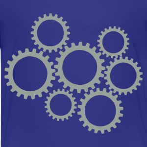 Royal blue Gears Kids' Shirts - Kids' Premium T-Shirt