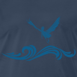 Flying Pelican - Men's Premium T-Shirt