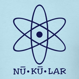 Sky blue nukular T-Shirts - Men's T-Shirt