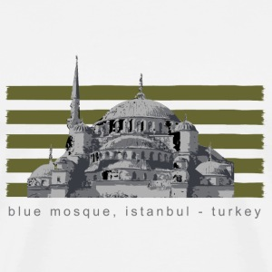 Blue Mosque - Men's Premium T-Shirt