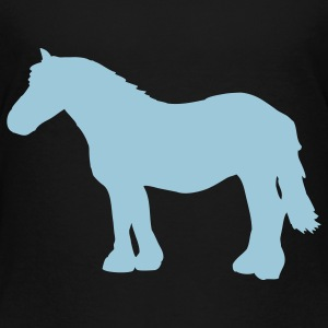 Black cold-blooded horse Toddler Shirts - Toddler Premium T-Shirt