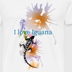 I love Iguana Tshirt - Men's Premium T-Shirt