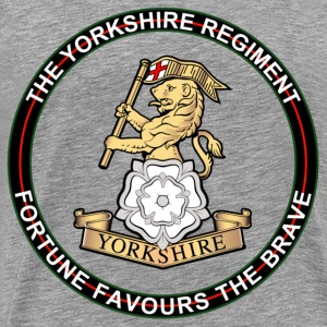Yorkshire Regiment - Men's Premium T-Shirt