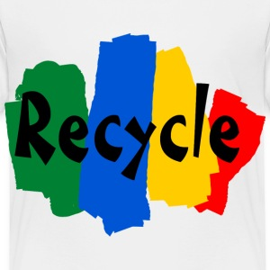 White recycle Toddler Shirts - Toddler Premium T-Shirt