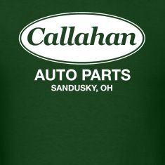 Forest green Callahan Auto Parts T-Shirts