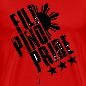 Red Filipino Pride T-Shirts - Men's Premium T-Shirt