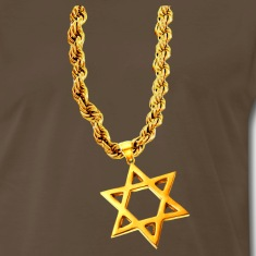 Bling Bling Gold STAR OF DAVID