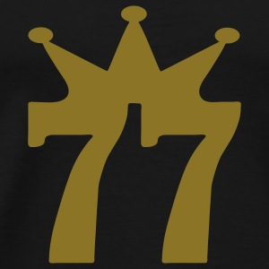 Black 77_corona T-Shirts - Men's Premium T-Shirt