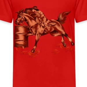 Barrel Racing - Toddler Premium T-Shirt