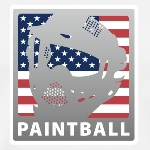 White paintball_3 T-Shirts - Men's Premium T-Shirt