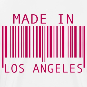 White Made in Los Angeles T-Shirts - Men's Premium T-Shirt