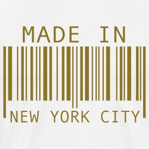 White Made in New York City T-Shirts - Men's Premium T-Shirt