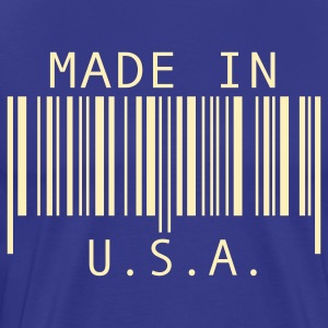 Royal blue Made in U.S.A T-Shirts - Men's Premium T-Shirt