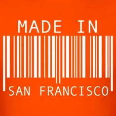 Orange Made in San Francisco T-Shirts